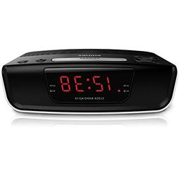 Philips AJ3123 FM Digital Tuning Alarm Clock Radio 110-240V
