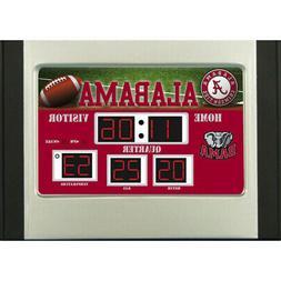 Alabama Crimson Tide NCAA Scoreboard Desk Clock - Roll Tide