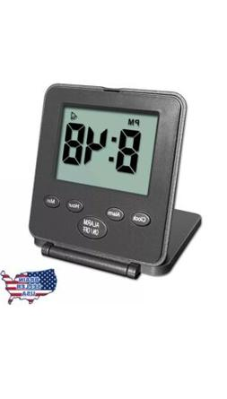 Travelwey Digital Travel Alarm Clock - 12/24 Hour Date Snooz