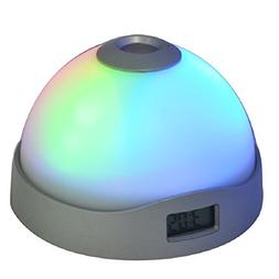 FunnyToday365 Alarm Clock With Time Projection Snooze Functi