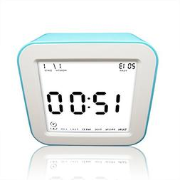 eBoTrade Digital Alarm Clock, Travel Clock with Timer and Ni