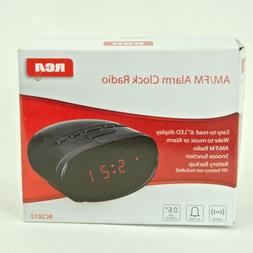 RCA Alarm Clock AM FM Radio LED Display Sleep Timer Battery