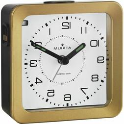 ATRIUM Alarm Clock Analog Quartz Radio Alarm A650-6 Light Sn