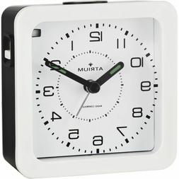 ATRIUM Alarm Clock Analog Quartz Radio Alarm A650-0 Light Sn