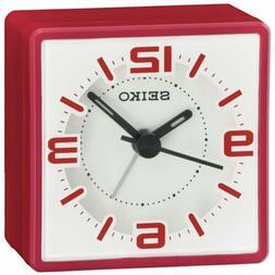 Seiko Alarm Clock Bedside Quartz White Dial QHE091RLH
