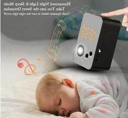 Alarm Clock Bluetooth Stereo Speaker Wireless Night Light FM