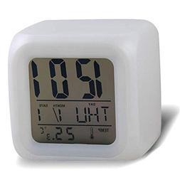 dgfrgregh Color Alarm Clock Digital Alarm Clock Color Changi