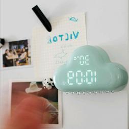 Alarm Clock Cloud Shape II Digital Time Temperature Date Clo