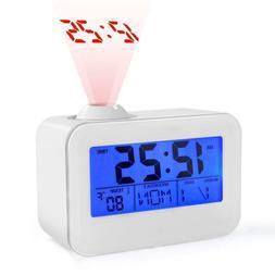 USCVIS Alarm Clock Digital Projection Alarm Clock with LCD D