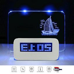 alarm clock display 4 usb