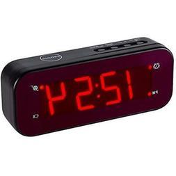 Timegyro Digital Alarm Clock Easy Setting and Battery Operat