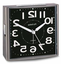 Alarm Clock for Bedrooms,Analog Silent Alarm Clock Non Ticki