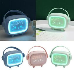 Alarm Clock for Bedrooms with Night Light for Kids Teens Boy