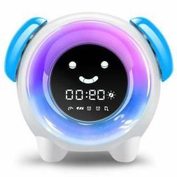 Alarm Clock for Kids Sleep Training Clock with 7 Colors Nigh