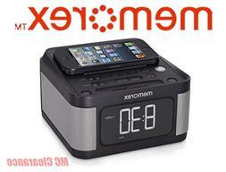 "Memorex Alarm Clock Jumbo 1.2"" LCD Display Full-Range speake"