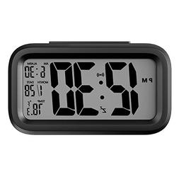 Helect H1040 Alarm Clock, Electronic Digital Morning Clock w