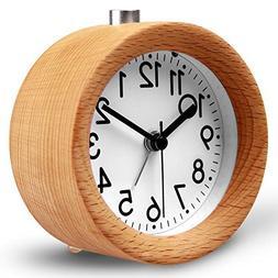 HaloVa Alarm Clock, Creative Fashion Silent Non Ticking Swee