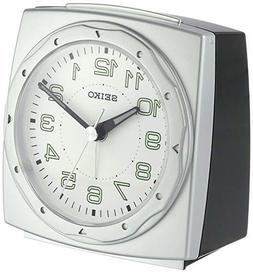 Seiko Alarm Clock QHE039SLH BRAND NEW Beautiful Bedside Cloc