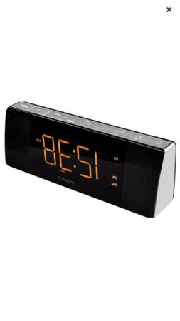 iTOMA Alarm Clock Radio-Bluetooth Stereo Speaker,FM Radio,Du