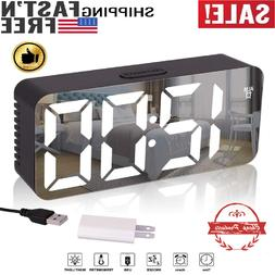 Alarm Clock Radio,FM Digital Clock Radio with USB Charger Po