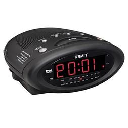 TIMEX ALARM CLOCK RADIO WITH MP3 LINE-IN AND NATURAL SOUNDS