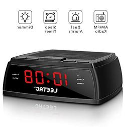 Alarm Clock Radio - Digital Alarm Clock with 20 AM&FM Radio