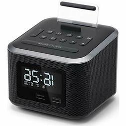 Alarm Clock Radios Radio,Wireless Bluetooth Speaker,Digital