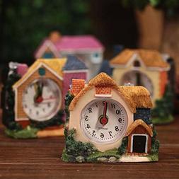 Alarm Clock Retro Morning Clock Table Clock Desktop Decorati