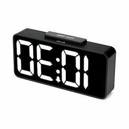 DreamSky Large Digital Alarm Clock with USB Port for Cellpho