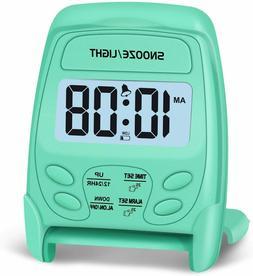 Alarm Clock Travel Digital Peakeep Foldable Battery Operated