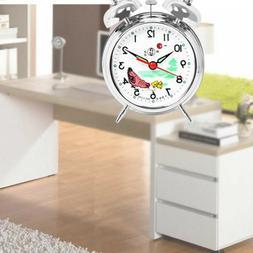 Alarm Clock Vintage Double Bells Alarm Clock For Bedroom Sid