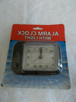 Alarm Clock with Light, NEW, Honey Bee Products