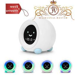 Alarm Clock With Night Light and Sleep Three Alarm Sounds Ma