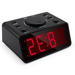 iTronics LED Digital Alarm Clocks for Bedroom/Heavy Sleepers