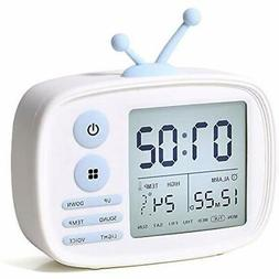Alarm Clocks Clock For Kids, LED Digital Bedrooms, Cute Alar