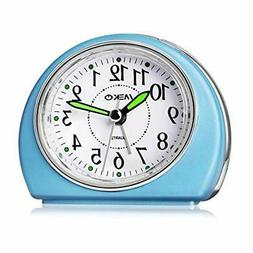 Alarm Clocks Non-Ticking Bedrooms Smart Tickless AA Battery
