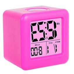 Alarm Clock, SkyNature Digital Soft Cube Snooze Light Alarm