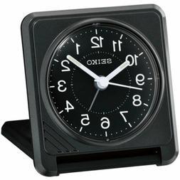 Seiko Alarm Tabletop Clock Sachi Travel Quartz Analogue QHT0