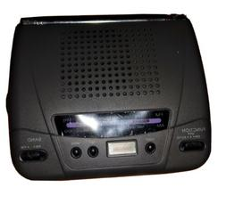 AM/FM Clock Radio UK Designs Battery Operated