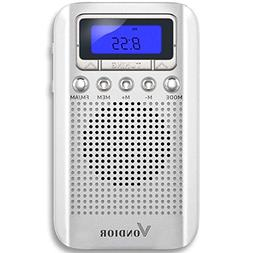 One Day Sale!- Digital AM/FM Portable Pocket Radio with Alar