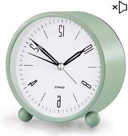 Analog Alarm Clock, 4 inch Super Silent Non Ticking Small Cl