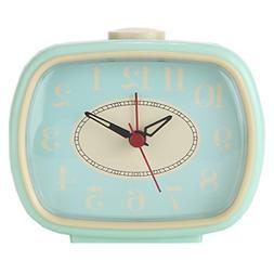 Analog Alarm Clock Vintage Retro Classic Bedroom Bedside Bat