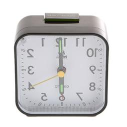 Analog Alarm Clock with Snooze,Battery Operated,Big Numbers