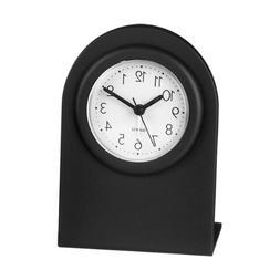 HANSLIN Analog Alarm Clock,Black