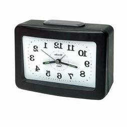 Westclox Analog Quartz Snooze Loud Bell Black Alarm Clock 47