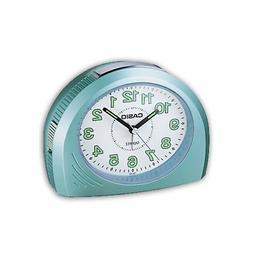 Casio Analog Quartz Table Top Green Resin Beep Alarm Clock T
