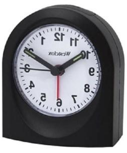 Westclox Analog Travel Alarm Clock #47312  NEW  Battery Powe
