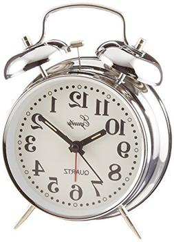 Equity by La Crosse Analog Twin Bell Alarm Clock by Equity b