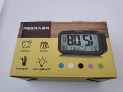 arlarm clock battery operated