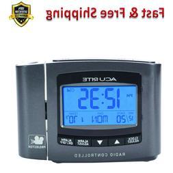 Atomic Projection Clock with Indoor Temperature Radio Contro